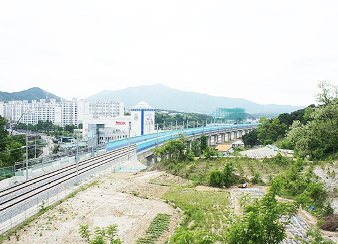 Double-Track Railway, Gyeongchun Line, Section 8