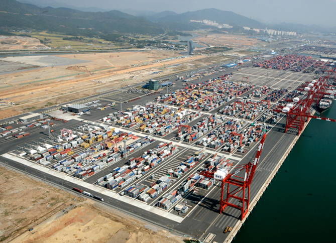 Gwangyang Port Phase 2 Container Terminal