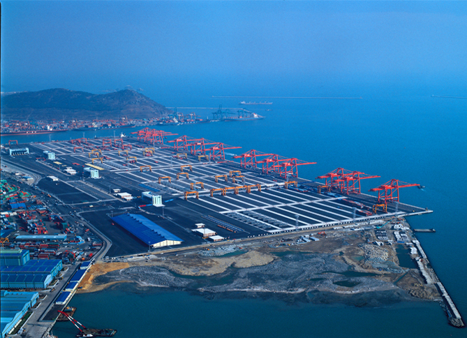 Phase 4 Container Terminal, Busan Port