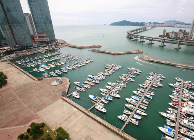 Suyeongman Bay Reclamation and Yachting Range